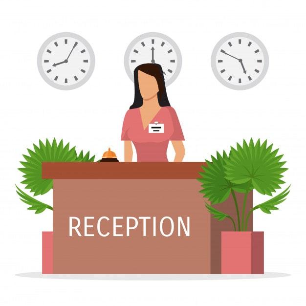 Front Desk Receptionist Duties - UPbook