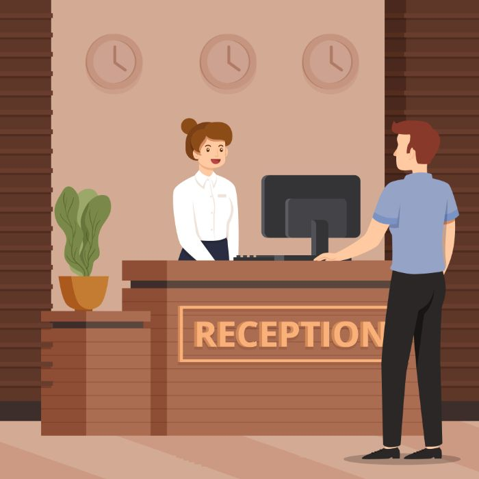 Handling Front Desk Receptionist Duties - UPbook