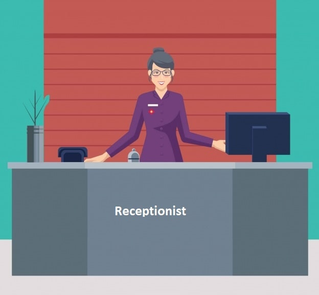 Receptionist Courses - UPbook