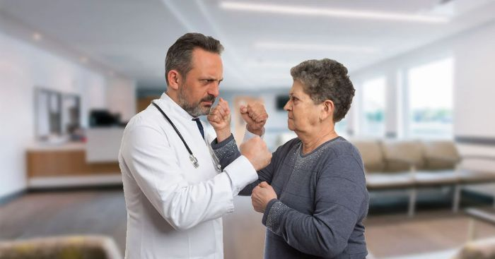 Lack Of Respect From Patients? - UPbook