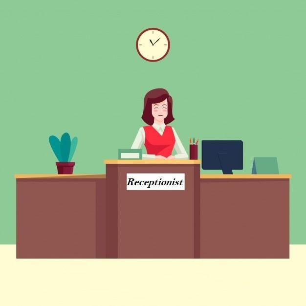 Receptionist Skills - UPbook